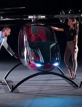 FOTO GALERI/ E ardhmja e transportit , prodhohet droni dyvendësh
