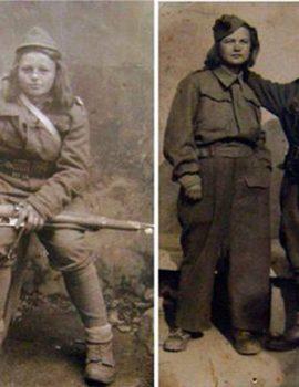 FOTO DOKUMENT – 1944/ Partizanet në Shkodër – Çfarë nanash mund të ishin ato femna me pushkë në krah?