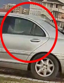 VIDEO/ Kamëz, çifti nuk përmbahet, kryen marrëdhënie në makinë në mes të ditës në mes të rrugës