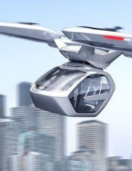 VIDEO & FOTO GALERI/Taksia e së ardhmes! – Ja në çfarë viti do të kemi transport fluturues