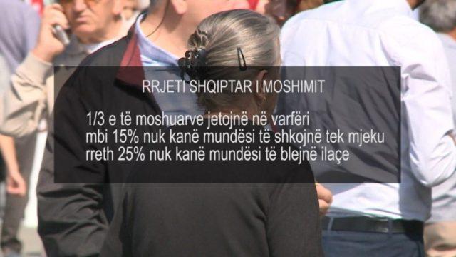 Të moshuarit në Shqipëri, ja sa përqind të popullsisë përbëjnë