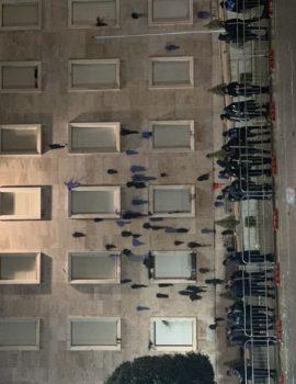 FOTO/ Pamje nga kryeministria pas protestes,,,me cfare eshte lagur