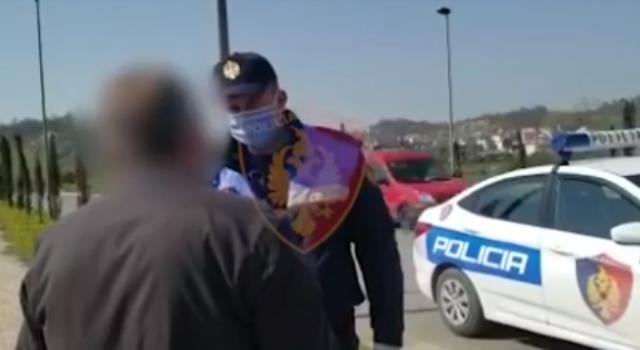 VIDEO/Policia shton gjobat pas ndryshimit të masave, kontrolle edhe në banesat e personave të vetëkarantinuar
