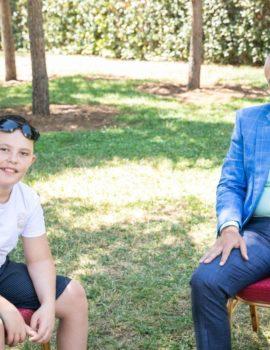 FOTOLAJM/Meta pret Alvin Berishën dhe babanë e tij,12-vjeçari ka ndryshuar shumë