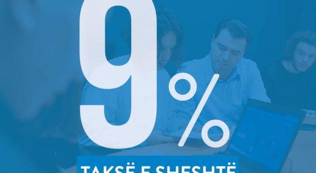 Lulzim Basha tregon pse duhet taksa e sheshtë 9%
