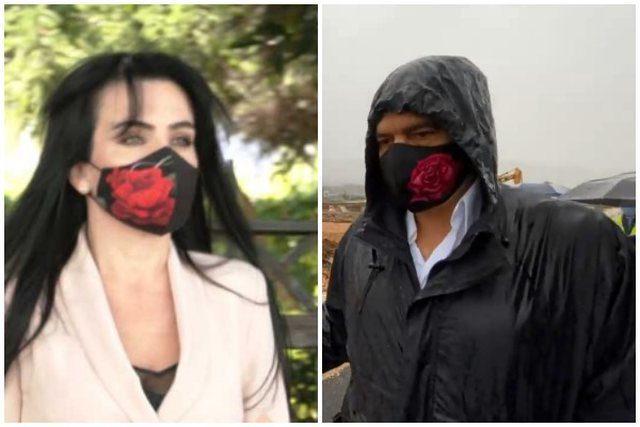 """Parada e maskave/Deputetja e Tepelenës i """"merr"""" Ramës maskën me trëndafil    Droni.al"""